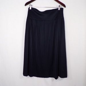 A New Day Navy Pleated Skirt, Sz 16
